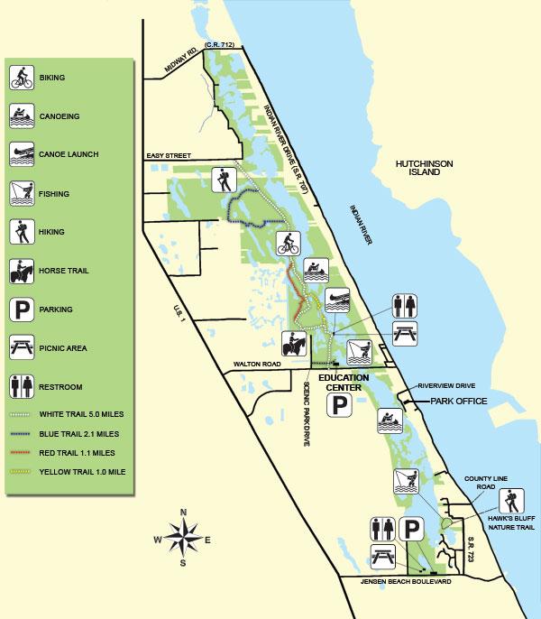 Honda Fort Pierce >> Savannas Preserve Map – My Quantum Discovery
